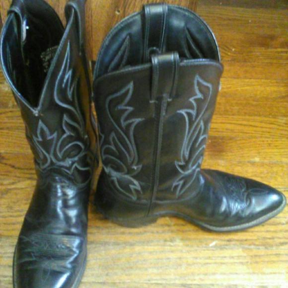 7bcfb6bc25b Vintage laredo cowboy boot size10.5 EE